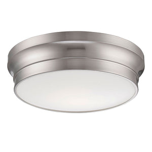 Jane 0 Light Flush Mount in Satin Nickel By Eurofase 26634-029