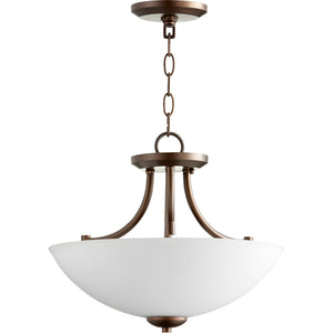 Barkley 3 Light Dual Mount in Oiled Bronze Finish 2769-15-86