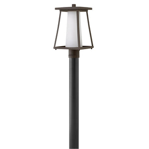 Burke Outdoor Post Mount by Hinkley 2791OZ Oil Rubbed Bronze