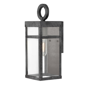 Porter Outdoor Wall Mount by Hinkley 2806DZ Lisa McDennon Aged Zinc