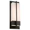 PLC Lighting 2906BK Brecon Collection  Light Exterior in Black Finish