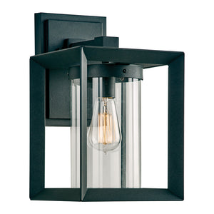 PLC Lighting 2913BK Sullivan Collection  Light Exterior in Black Finish