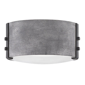 Sawyer Outdoor Ceiling by Hinkley 29201DZ-LL Aged Zinc