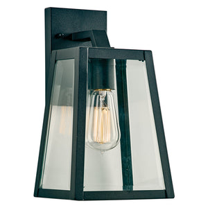 PLC Lighting 2920BK Park Avenue Collection 1 Light Exterior in Black Finish