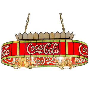 "24"" Long Coca-Cola Oblong Pendant by Meyda 29262"
