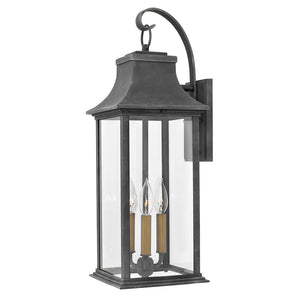 Adair Outdoor Wall Mount by Hinkley 2935DZ Heritage Aged Zinc