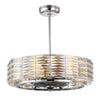 Taurus 6 Light Fan D'lier  in Polished Chrome Finish by Savoy House 30-333-FD-11