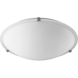 4 Light Ceiling Mount in Satin Nickel Finish 3000-20165
