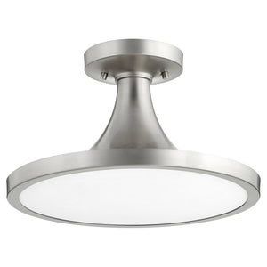 1 Light Ceiling Mount in Satin Nickel Finish 3001-15-65