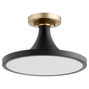 1 Light Ceiling Mount in Noir Finish 3001-15-69
