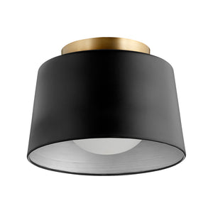1 Light Ceiling Mount in Noir Finish 3003-11-69