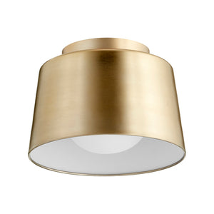 1 Light Ceiling Mount in Aged Brass Finish 3003-11-80