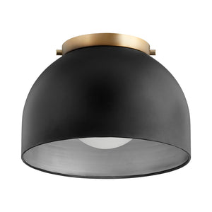 1 Light Ceiling Mount in Noir Finish 3004-11-69