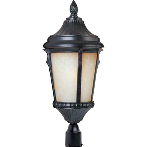 Maxim Lighting 3010LTES Odessa Cast 1-Light Outdoor Pole/Post Lantern in Espresso Finish