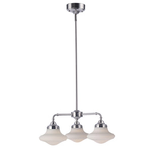 Maxim Lighting 30243SWSN New School-Mini Chandelier in Satin Nickel