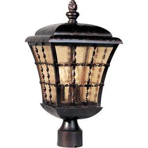 Maxim Lighting 30490ASOI Orleans 3-Light Outdoor Pole/Post Lantern in Oil Rubbed Bronze Finish