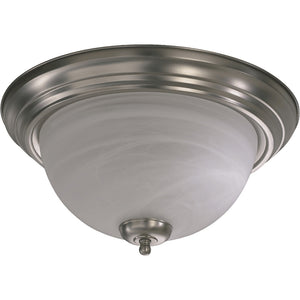 3 Light Ceiling Mount in Satin Nickel Finish 3066-15-65