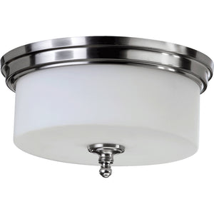 Rockwood 3 Light Ceiling Mount in Satin Nickel Finish 3090-14-65