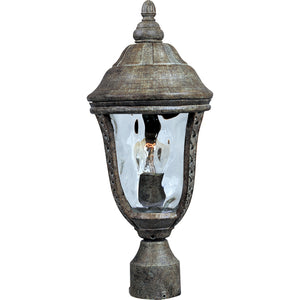 Maxim Lighting 3100WGET Whittier Cast 1-Light Outdoor Pole/Post Lantern in Earth Tone Finish