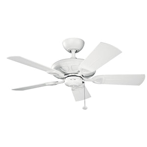 Kevlar Light Ceiling Fan in Matte White Finish by Kichler 310144MWH