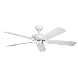 Kevlar Light Ceiling Fan in Matte White Finish by Kichler 310150MWH