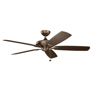 Kevlar Light Ceiling Fan in Weathered Copper Powder Coat Finish by Kichler 310150WCP