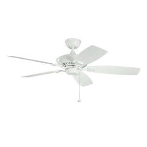 Canfield Patio Light Ceiling Fan in White Finish by Kichler 310192WH