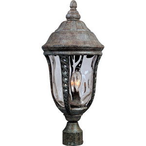 Maxim Lighting 3101WGET Whittier Cast 3-Light Outdoor Pole/Post Lantern in Earth Tone Finish