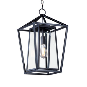 Maxim Lighting 3178CLBK Artisan-Outdoor Hanging Lantern in Black