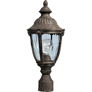 Maxim Lighting 3180WGET Morrow Bay Cast 1-Light Outdoor Pole/Post Lantern in Earth Tone Finish
