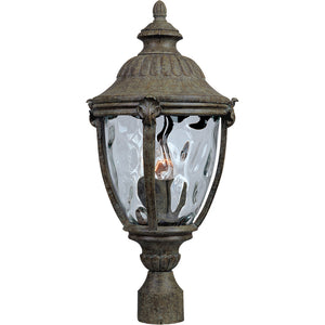 Maxim Lighting 3181WGET Morrow Bay Cast 3-Light Outdoor Pole/Post Lantern in Earth Tone Finish