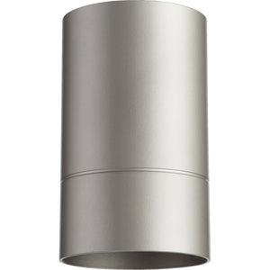 Cylinder 1 Light Ceiling Mount in Graphite Finish 320-3