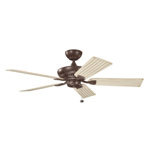 Climates Light Ceiling Fan in Coffee Mocha Finish by Kichler 320500CMO