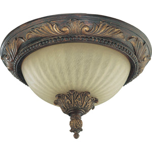 Madeleine 2 Light Ceiling Mount in Corsican Gold Finish 3230-13-88