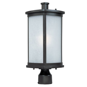 Maxim Lighting 3250FSBZ Terrace 1-Light Outdoor Post Lantern in Bronze Finish