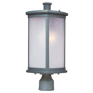Maxim Lighting 3250FSPL Terrace 1-Light Outdoor Post Lantern in Platinum Finish