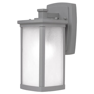 Maxim Lighting 3252FSPL Terrace 1-Light Small Outdoor Wall Lantern in Platinum Finish