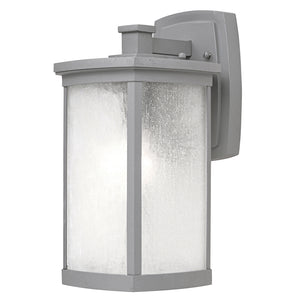 Maxim Lighting 3253FSPL Terrace 1-Light Medium Outdoor Wall Lantern in Platinum Finish