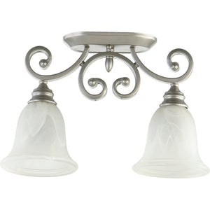 Bryant 2 Light Ceiling Mount in Classic Nickel Finish 3254-2-64