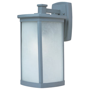 Maxim Lighting 3254FSPL Terrace 1-Light Large Outdoor Wall Lantern in Platinum Finish