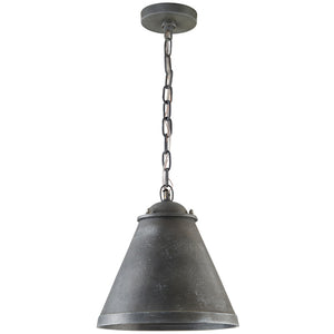 Capital Lighting  330312AY 1 Light Pendant in Anitque Grey