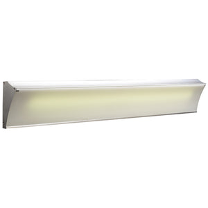 PLC Lighting 3357 AL Naxos Collection 1 Light Vanity in Aluminum Finish