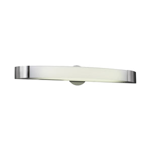 PLC Lighting 3376 SN Delaney Collection 1 Light Vanity in Satin Nickel Finish