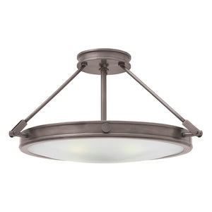 Collier Foyer Ceiling by Hinkley 3382AN-LED Antique Nickel