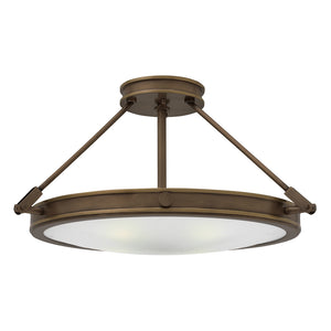 Collier Foyer Ceiling by Hinkley 3382LZ-LED Light Oiled Bronze