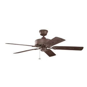 Renew Patio Light Ceiling Fan in Tannery Bronze Powder Coat Finish by Kichler 339515TZP