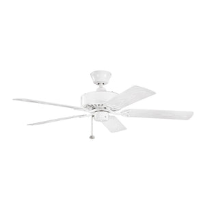 Renew Patio Light Ceiling Fan in White Finish by Kichler 339515WH