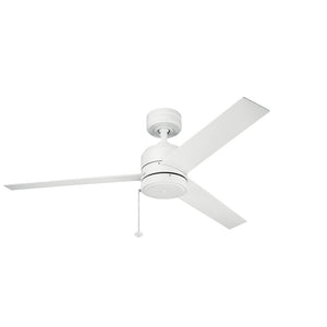 Arkwet Light Ceiling Fan in Matte White Finish by Kichler 339629MWH