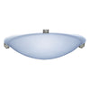 PLC Lighting 3464IRLED Nuova Collection 1 Light Ceiling Mount in Natural Iron Finish