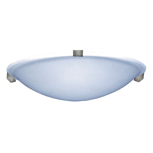 PLC Lighting 3464 IR Nuova Collection 1 Light Ceiling in Natural Iron Finish